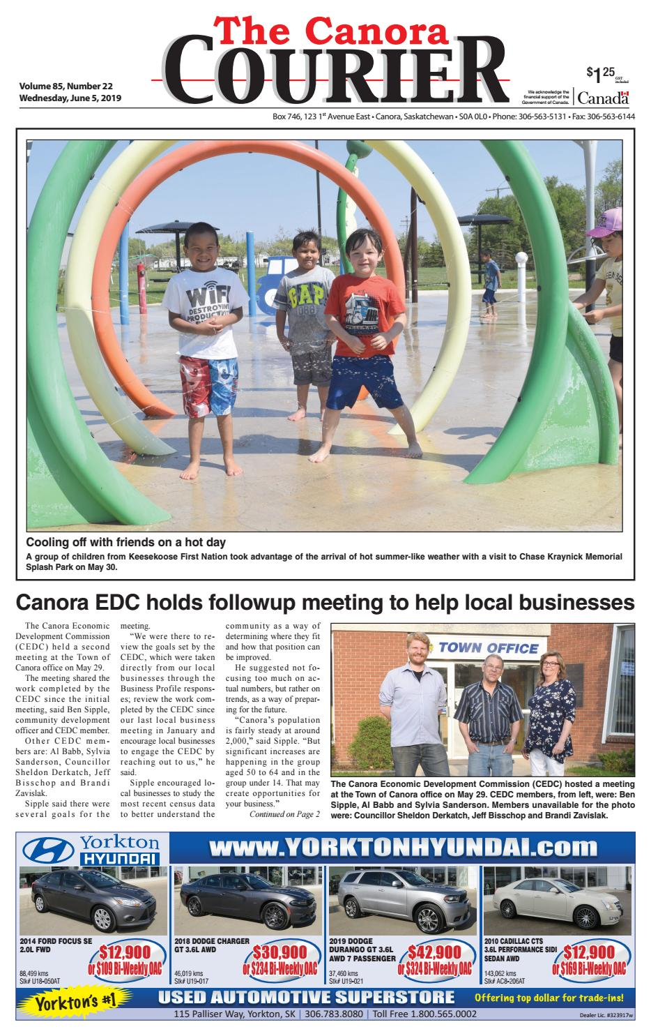 Canora Courier 2019-06-05 by Canora Courier - issuu