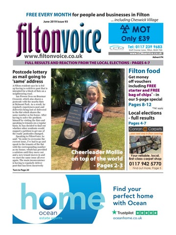 Filtonvoice June 2019 by Richard Coulter - issuu