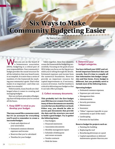 Page 24 of Six Ways to Make Community Budgeting Esier