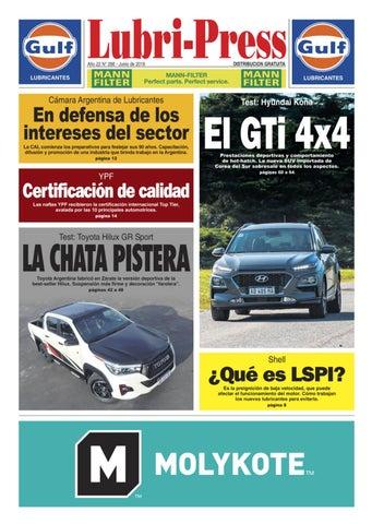 e111a326dfd LUBRI-PRESS 266 - Junio 2019 by Autopress Ediciones - issuu