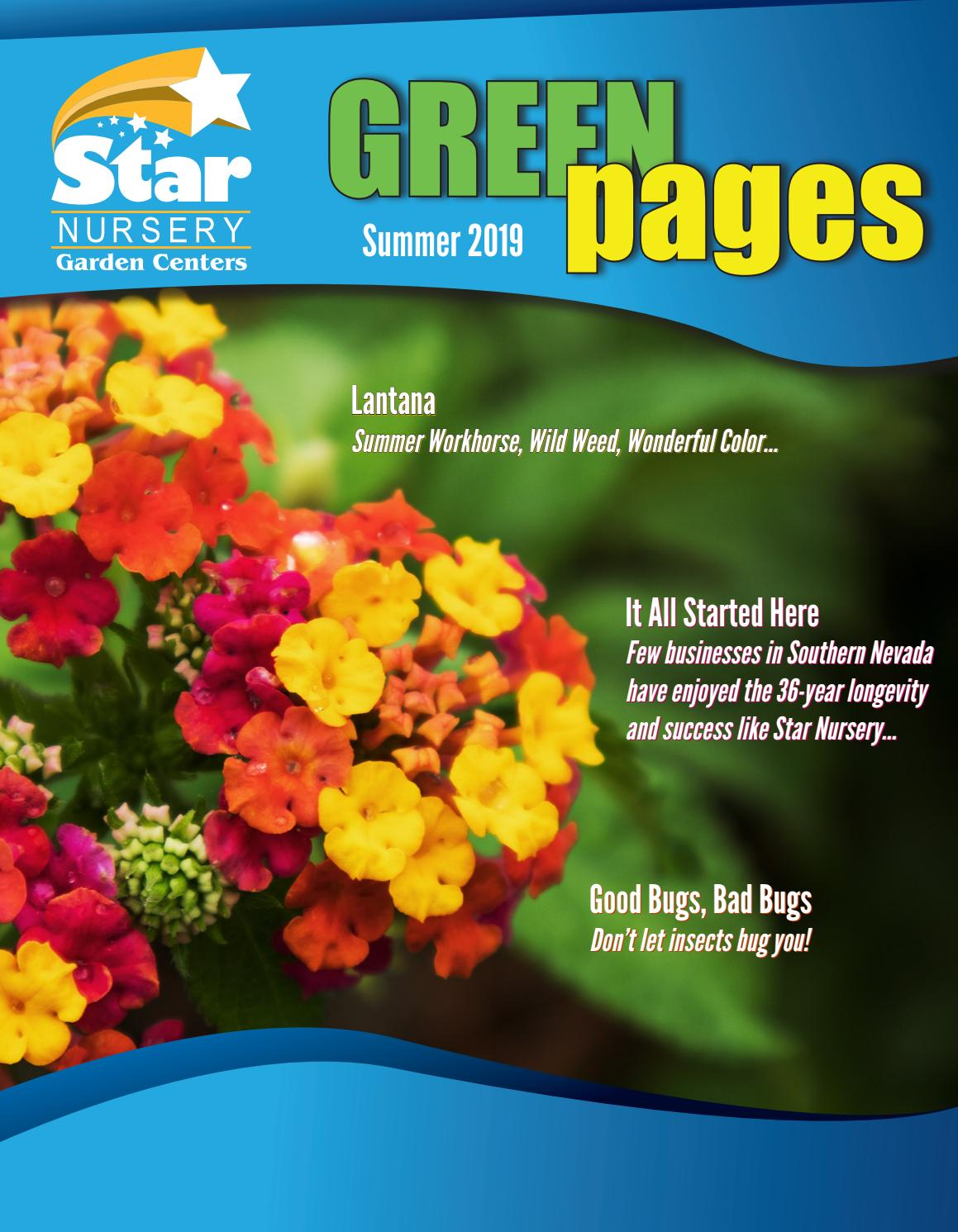Green Pages Summer 2019 By Star Nursery
