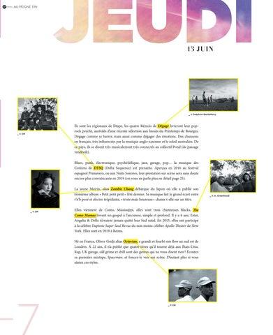 Page 7 of Les SONS de La Magnifique Society 2019
