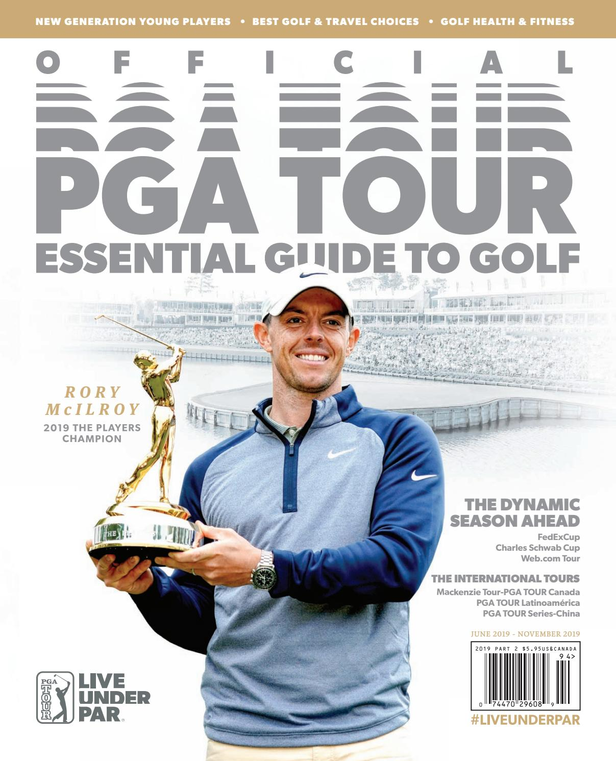 Official Pga Tour Essential Guide To Golf June November