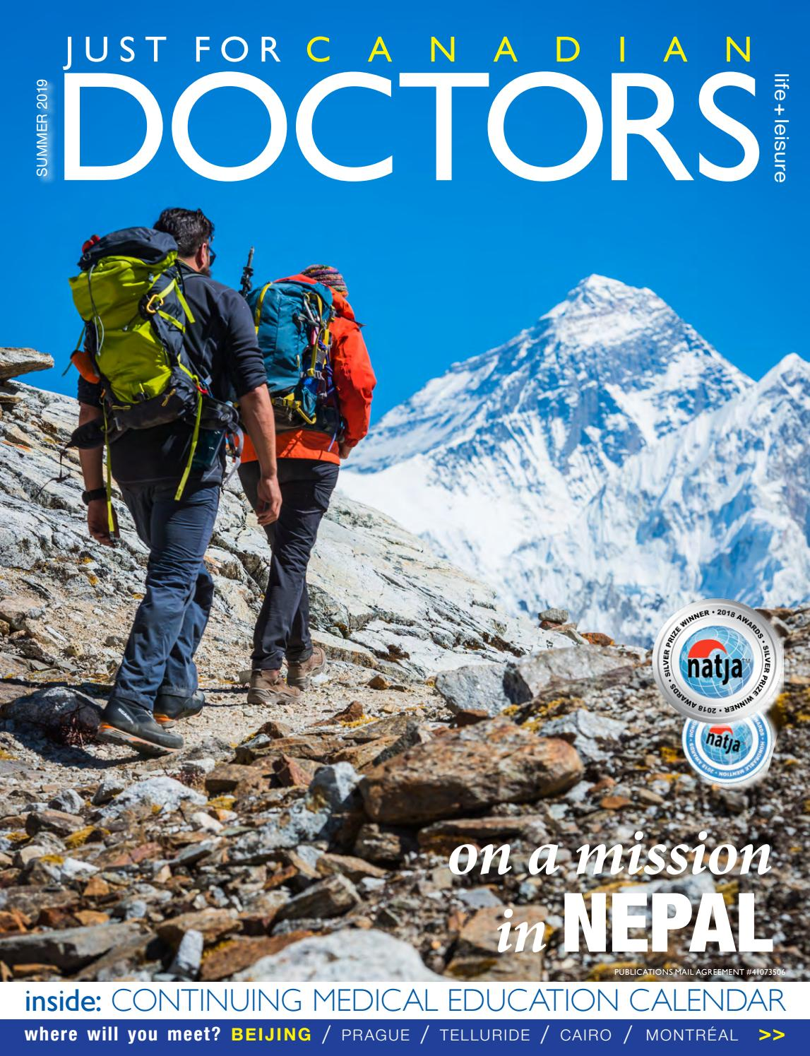 Just For Canadian Doctors Summer 2019 by Just For Canadian