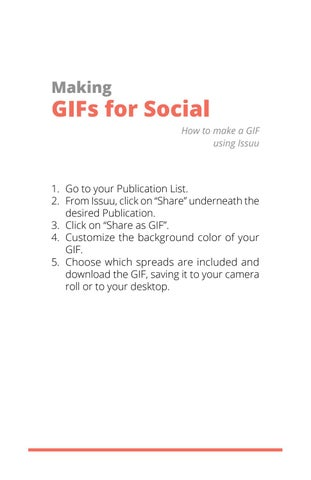 Page 10 of Making GIFs for Social