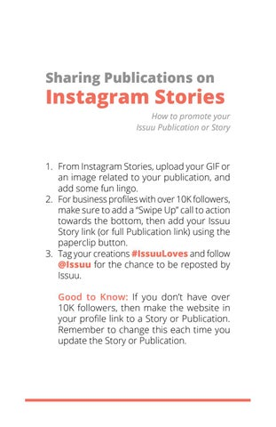 Page 13 of Sharing Publications on Instagram Stories