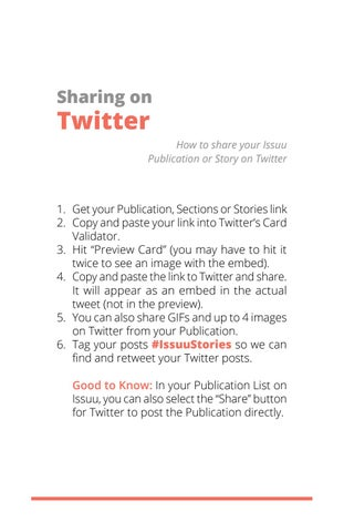 Page 21 of Sharing on Twitter
