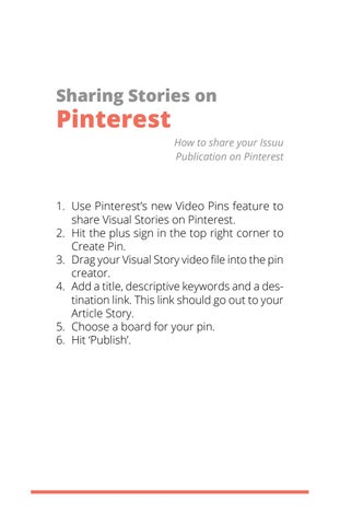 Page 22 of Sharing Stories on Pinterest