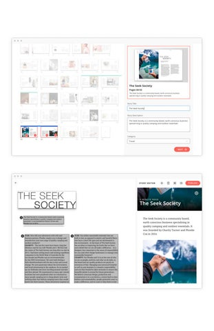 Page 5 of Creating & Sharing Article Stories