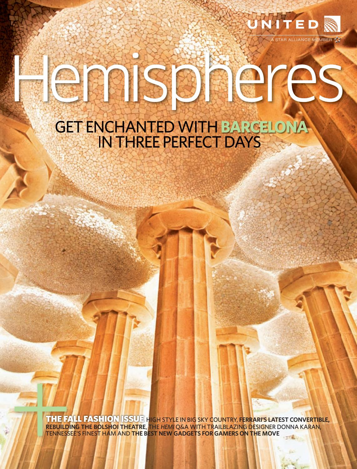United Airlines Hemispheres Magazine September 2011 by Ahmed