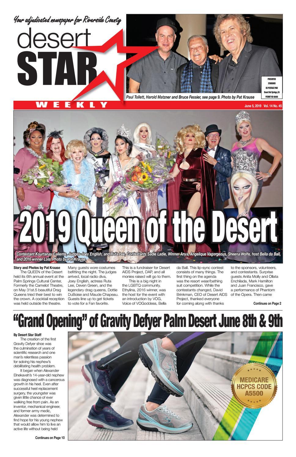 Desert Star Weekly June 5, 2019 issue! by The Desert Star