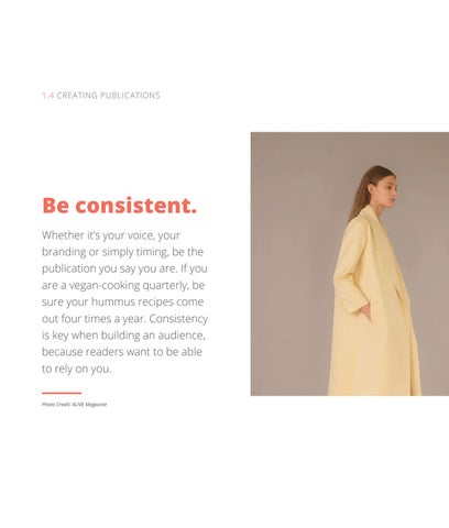 Page 12 of Be Consistent