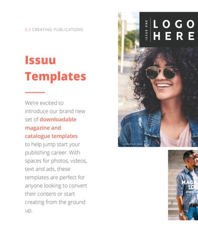 Page 20 of Issuu Templates