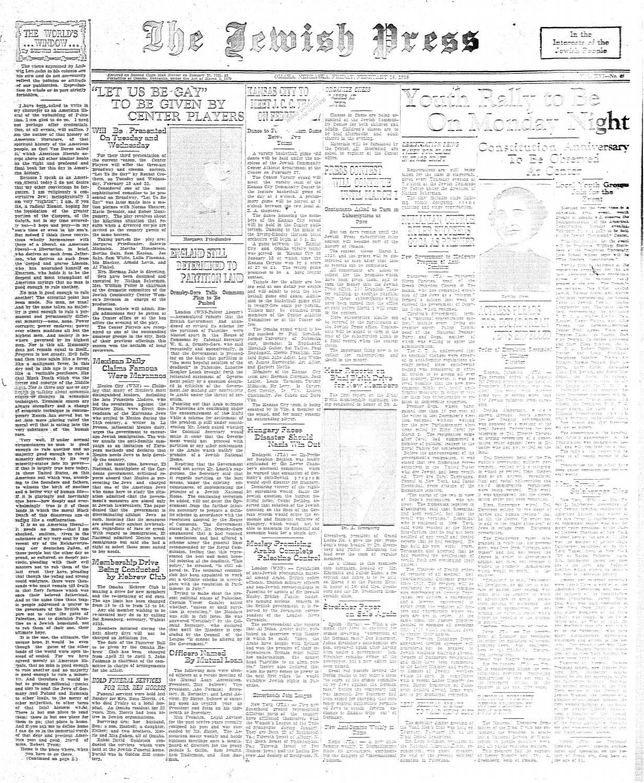 February 18, 1938 by Jewish Press issuu