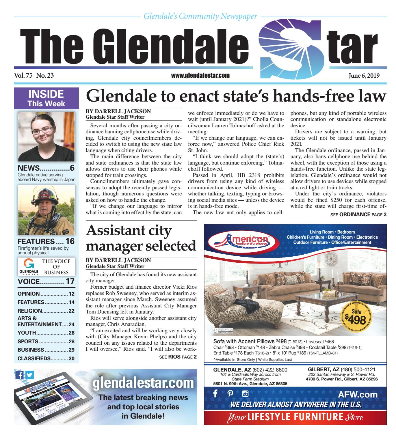8f8d5e20453 Glendale Star: 06-06-2019 by Times Media Group - issuu