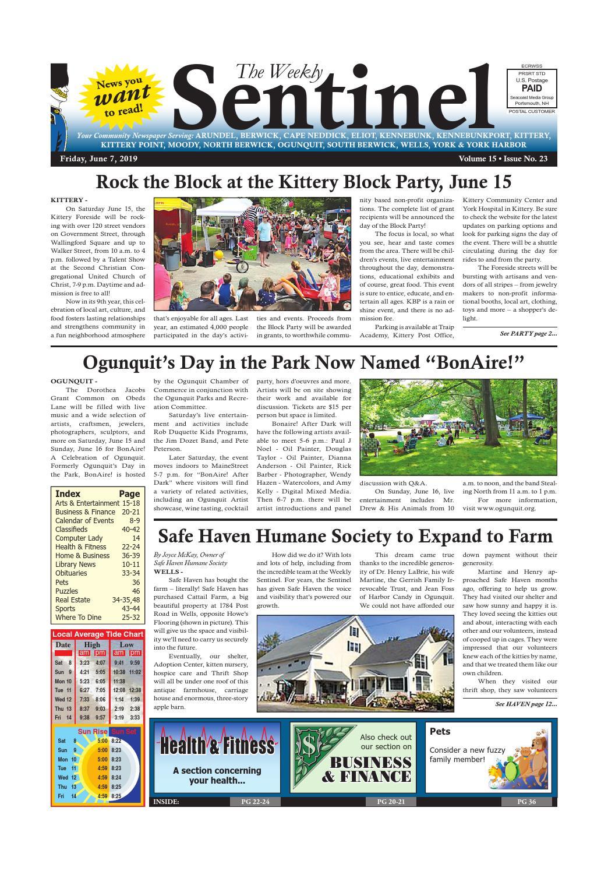 WS June 7, 2019 by Weekly Sentinel - issuu