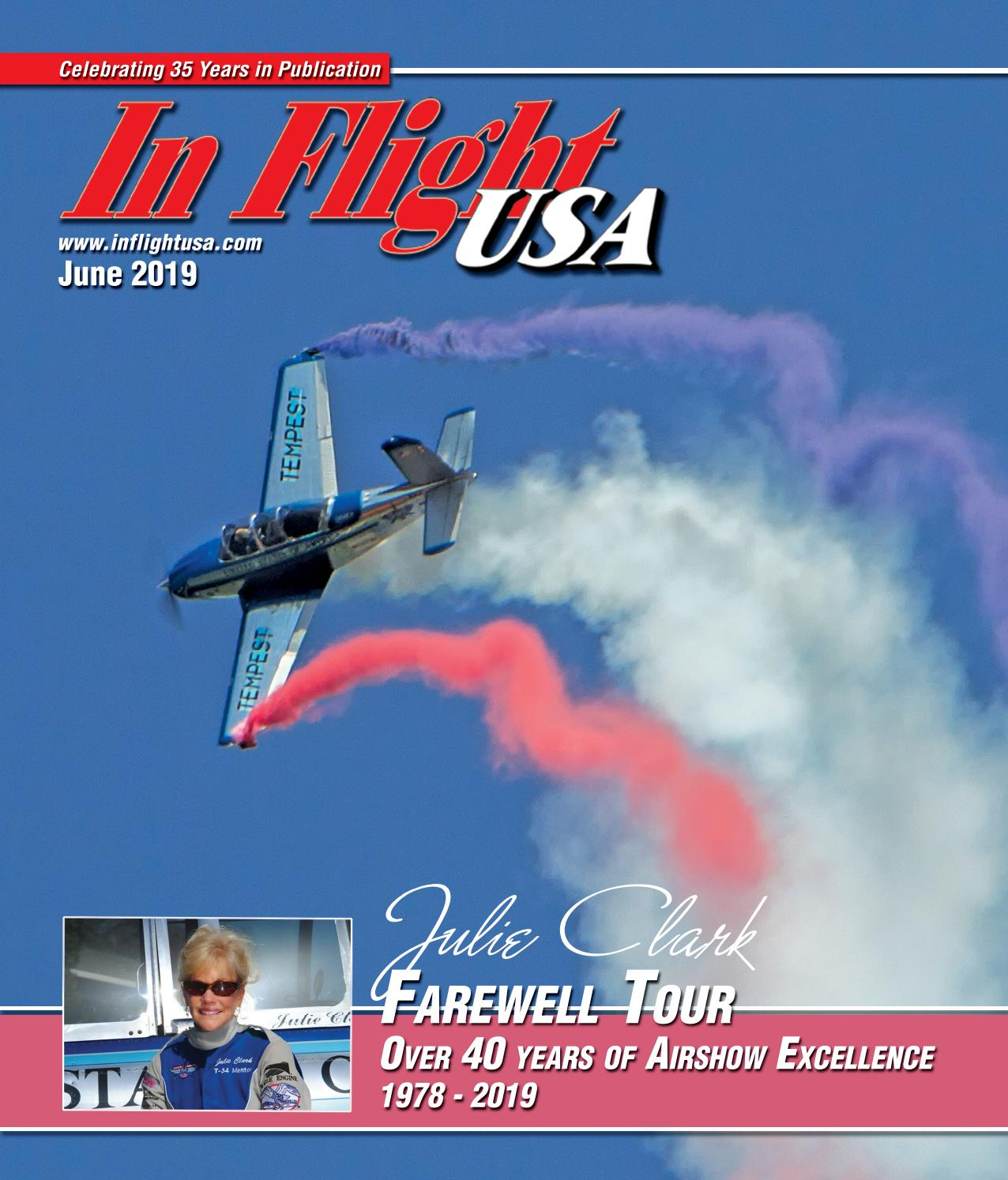 In Flight USA June 2019 by Anne Dobbins - issuu