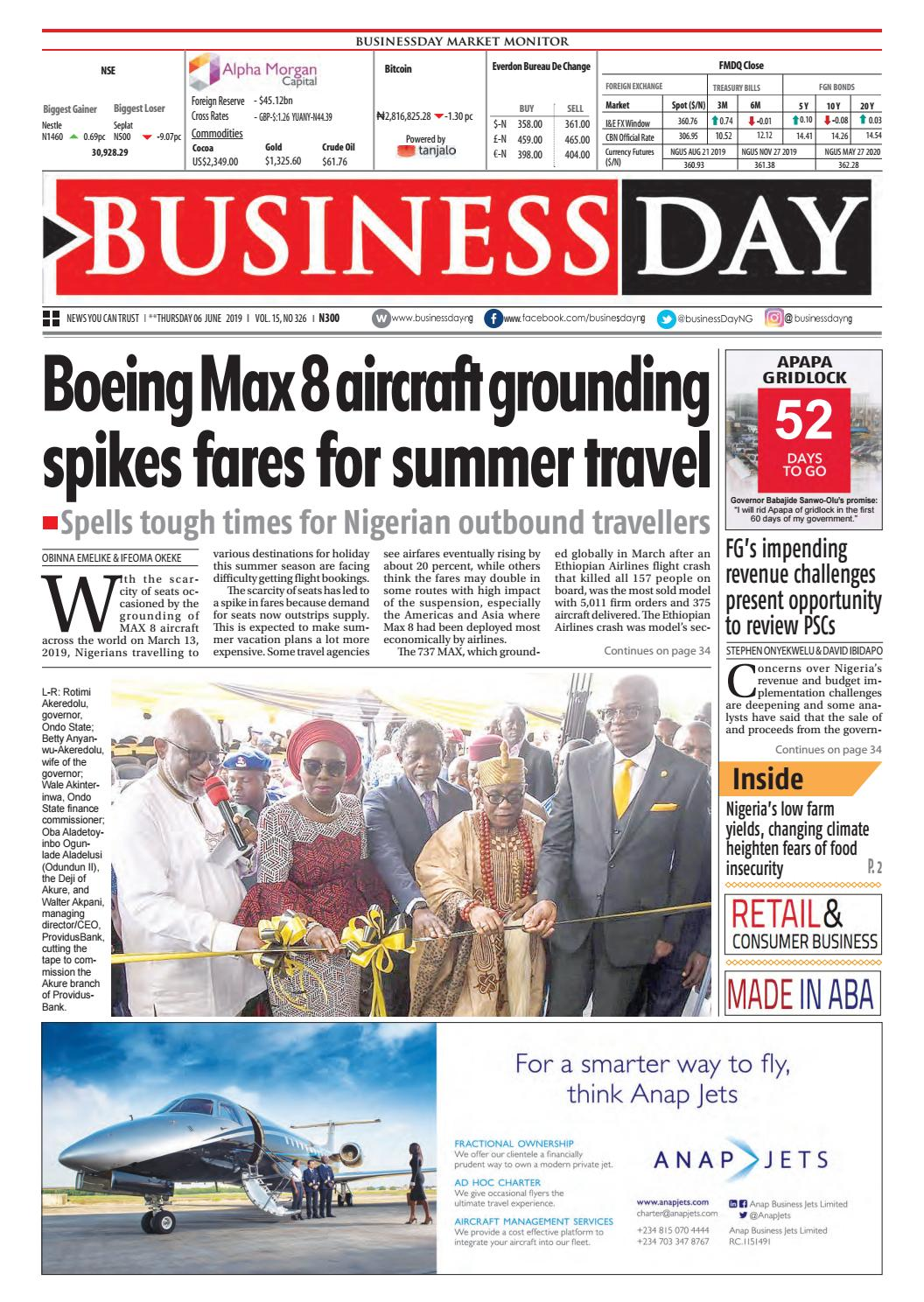 BusinessDay 06 Jun 2019 by BusinessDay - issuu