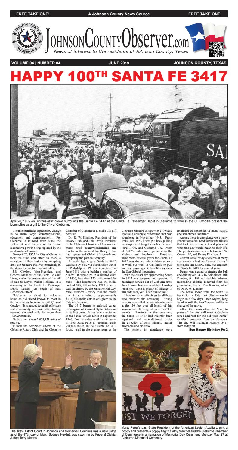 b8a37be375a Johnson County Observer June 2019 by Johnson County Observer - issuu