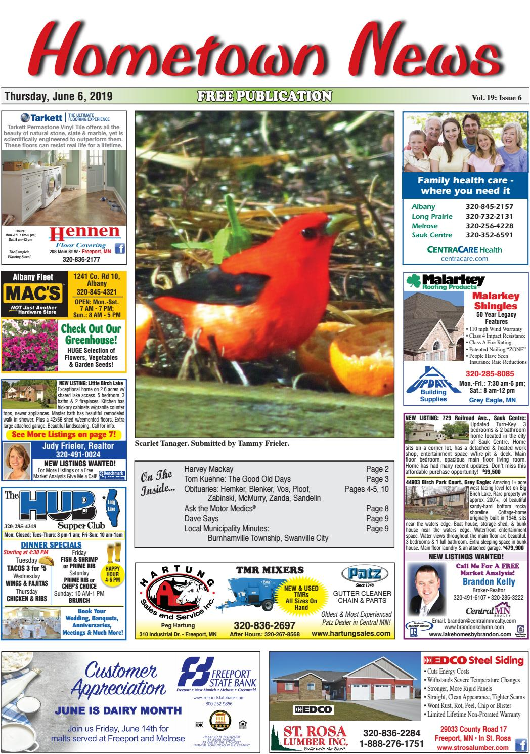 Hometown News June 6, 2019 by Hometown News - issuu
