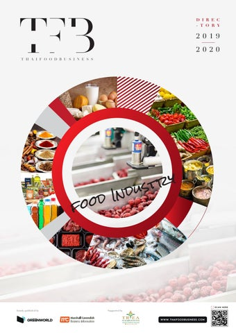Page 1 of Thai Food Business Directory 2019/2020