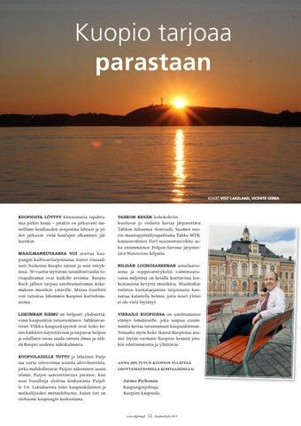 Page 12 of Kuopio tarjoaa parastaan