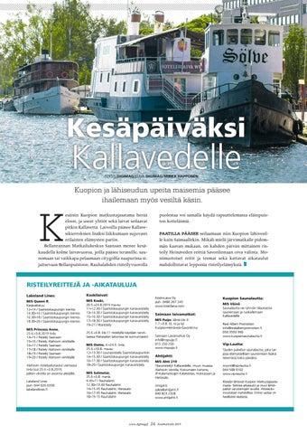 Page 24 of Kesäpäiväksi Kallavedelle