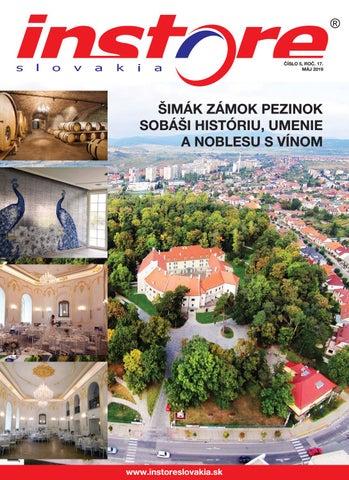 51eacb0098 instore Slovakia máj 2019 by IN STORE Slovakia - issuu
