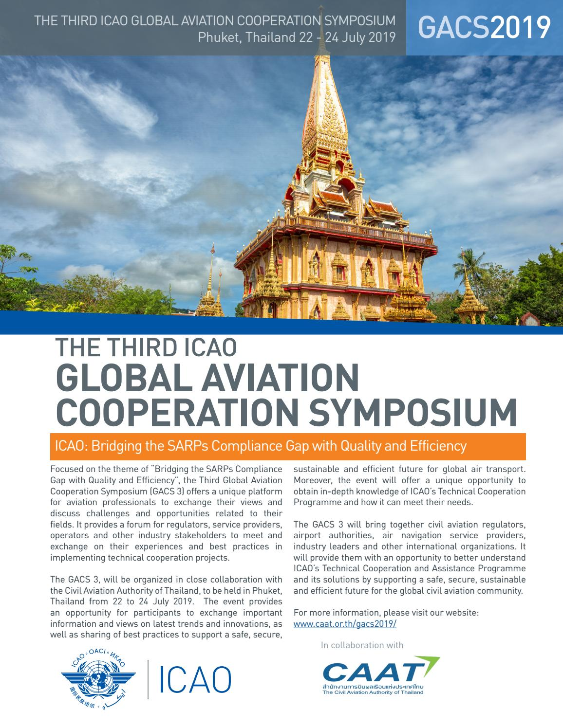 The Third ICAO Global Aviation Cooperation Symposium