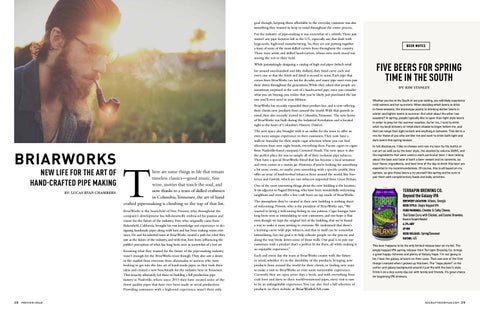 Page 16 of Briarworks brings new life for the art of hand-crafted pipe making.