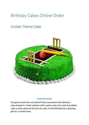 Pleasant Birthday Cakes Online Order By Countryoven Issuu Personalised Birthday Cards Veneteletsinfo
