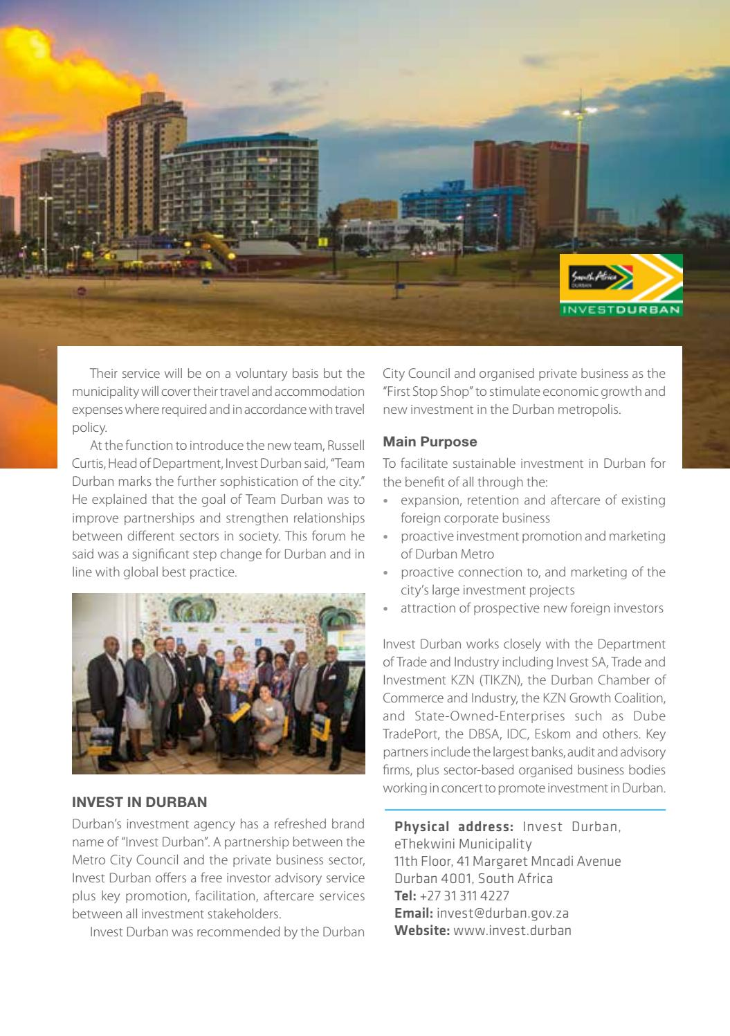 KwaZulu-Natal Business 2019/20 by Global Africa Network - issuu
