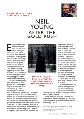 Page 66 of NEIL YOUNG - AFTER THE GOLD RUSH