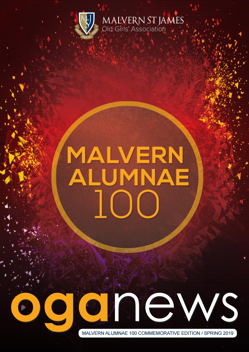 1165fd6c439 OGA News - Spring 2019 by Malvern St James - issuu