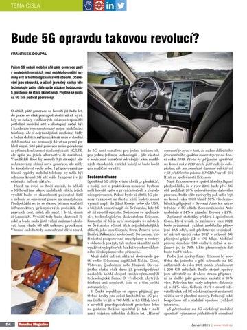 Page 14 of Bude 5G opravdu takovou revolucí?
