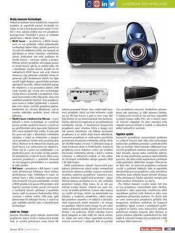 Page 29 of Přichází doba laserová?