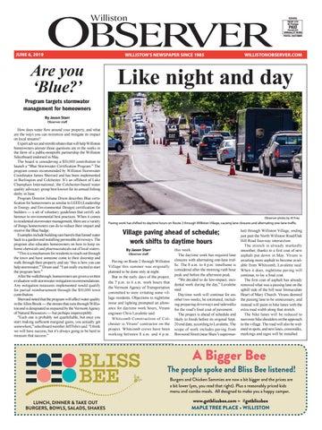 Williston Observer 6-6-19 by Williston Publishing - issuu