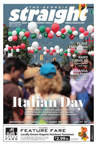 The Georgia Straight - Italian Day - June 6, 2019 by The Georgia