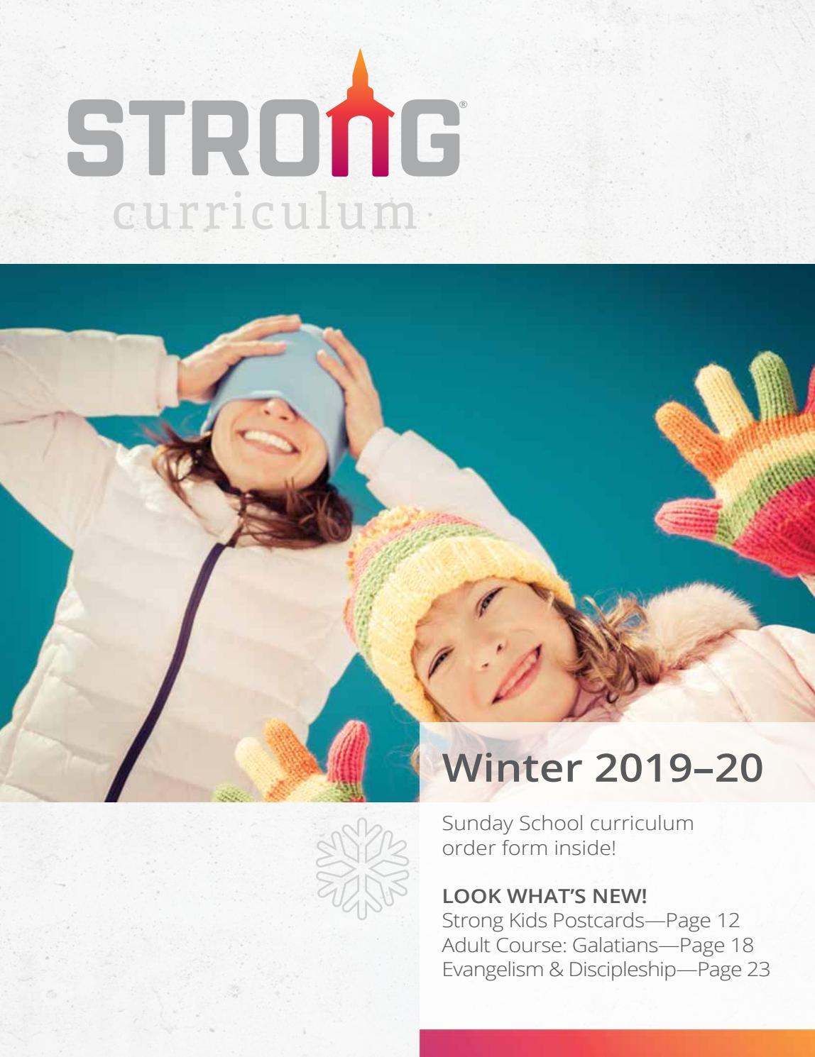 RBP Winter 2019 Curriculum Catalog - Church by Regular