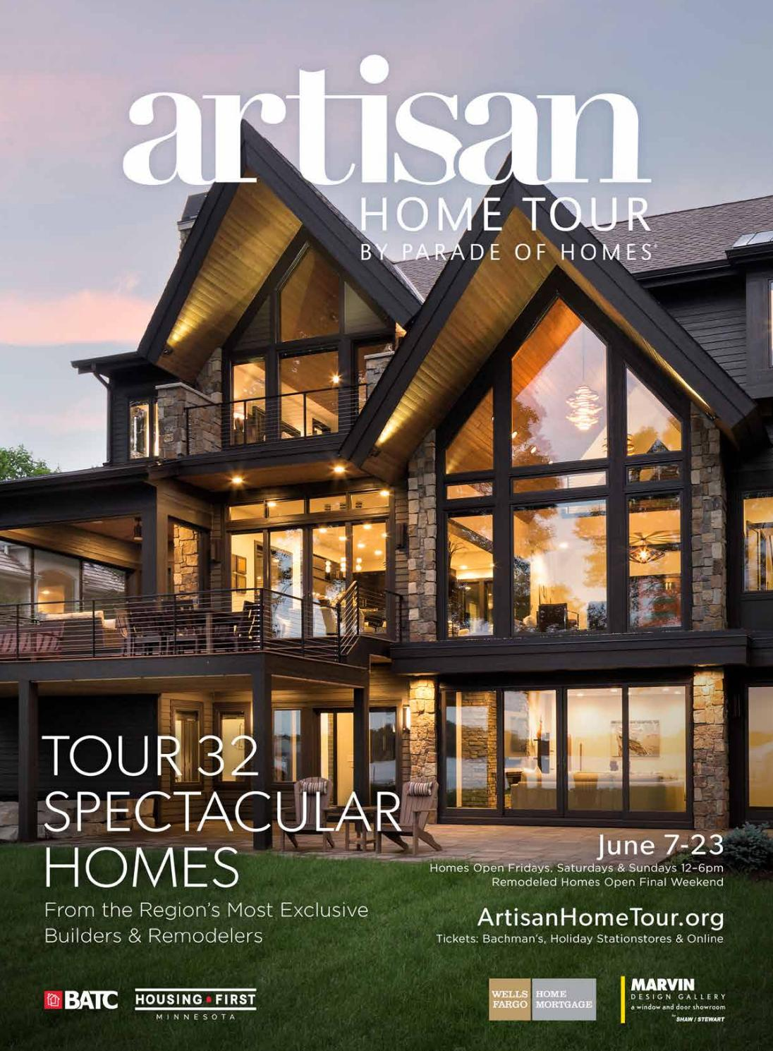 Modern Organic Home By John Kraemer Sons In Minneapolis Usa: Artisan Home Tour By Parade Of Homes 2019 Guidebook By BATC-Housing First Minnesota