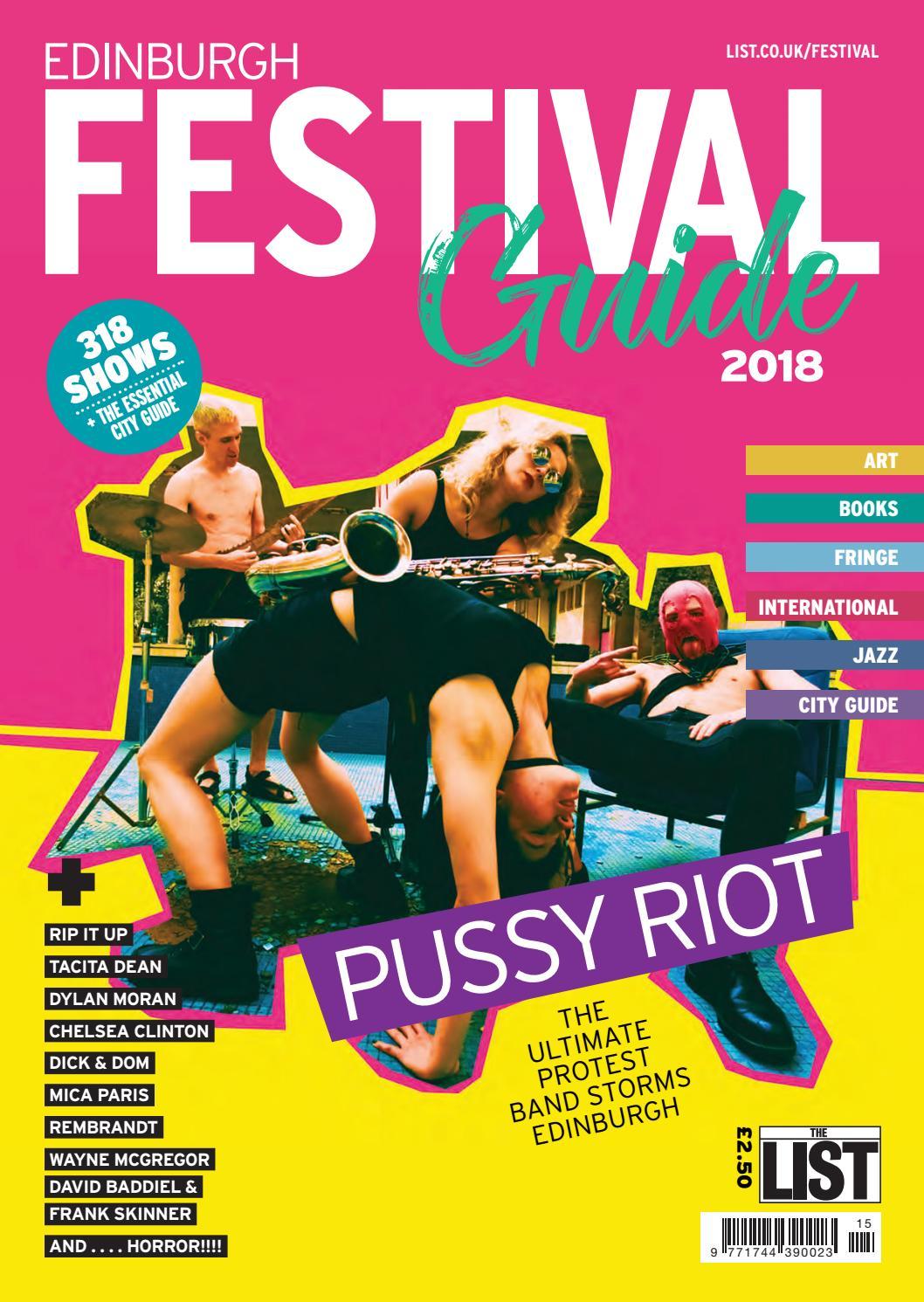 Edinburgh Festival Guide 2018 by The List Ltd - issuu