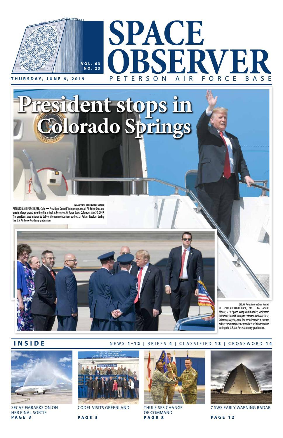 Peterson Space Observer June 6, 2019 by Colorado Springs