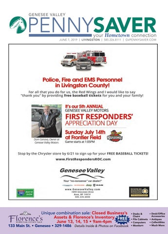 Livingston Edition - Genesee Valley Penny Saver 6-7-2019 by