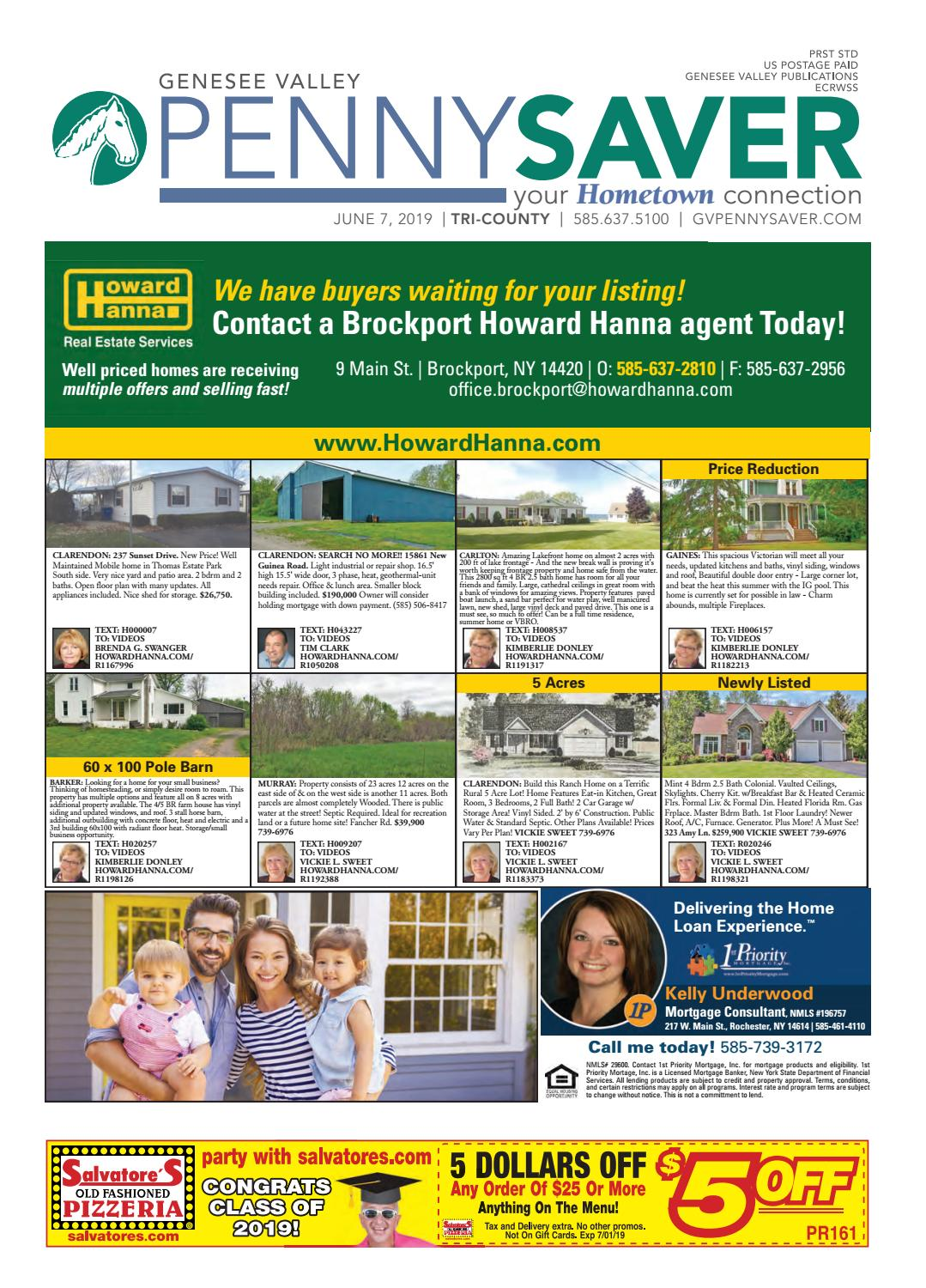 Tri-County Edition - Genesee Valley Penny Saver 6-7-2019 by