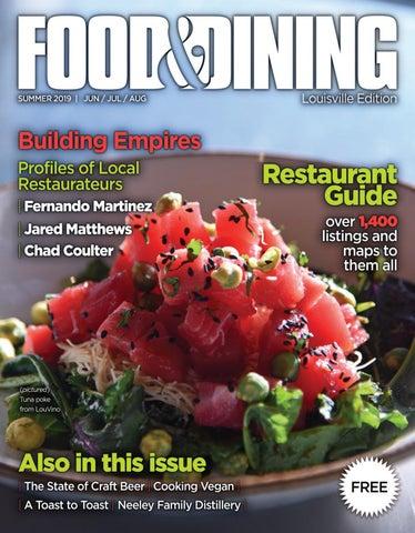 Summer 2019 (Vol 64) by Food & Dining Magazine - issuu