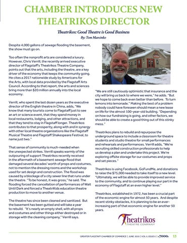 Page 13 of Chamber Introduces New Theatrikos Director