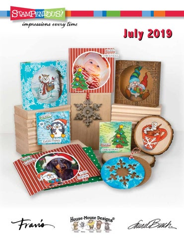 Christmas Stamps 2019.Stampendous July 2019 Catalog By Stampendous Stamps Issuu