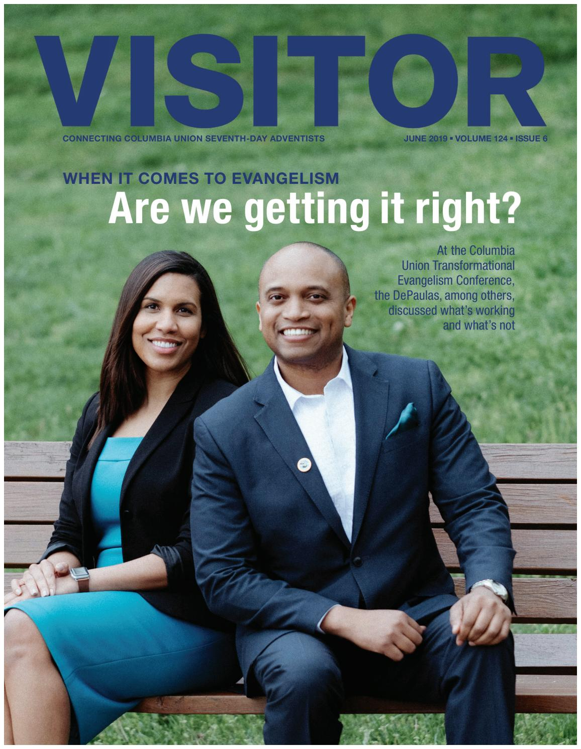 Columbia Union Visitor--June 2019 by Columbia Union Conference - issuu