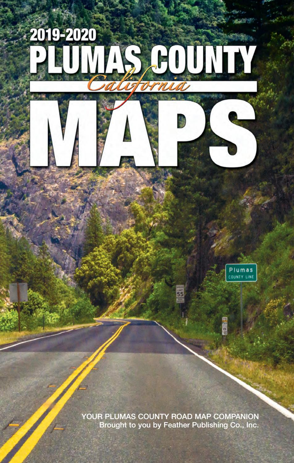 Plumas County Book of Maps 2019 by Feather Publishing - issuu on