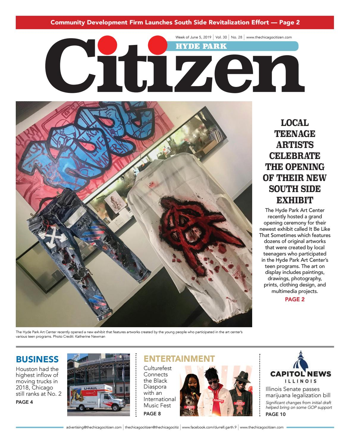 Hyde Park Citizen 6-5-2019 by CHICAGO CITIZEN NEWSPAPERS - issuu